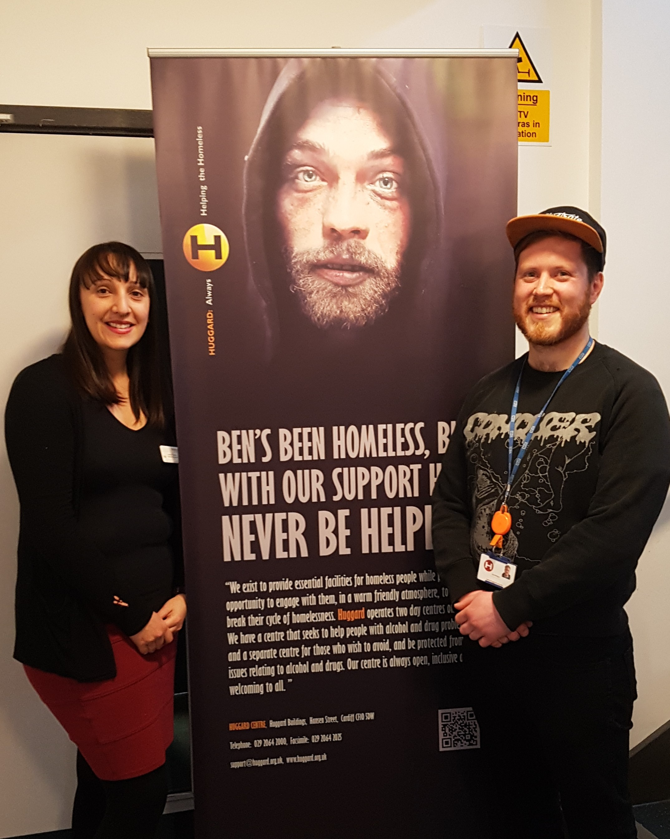 Sleeperz Hotel Cardiff has been fundraising to help the homeless