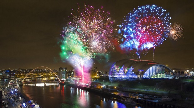 Newcastle on New Year's Eve
