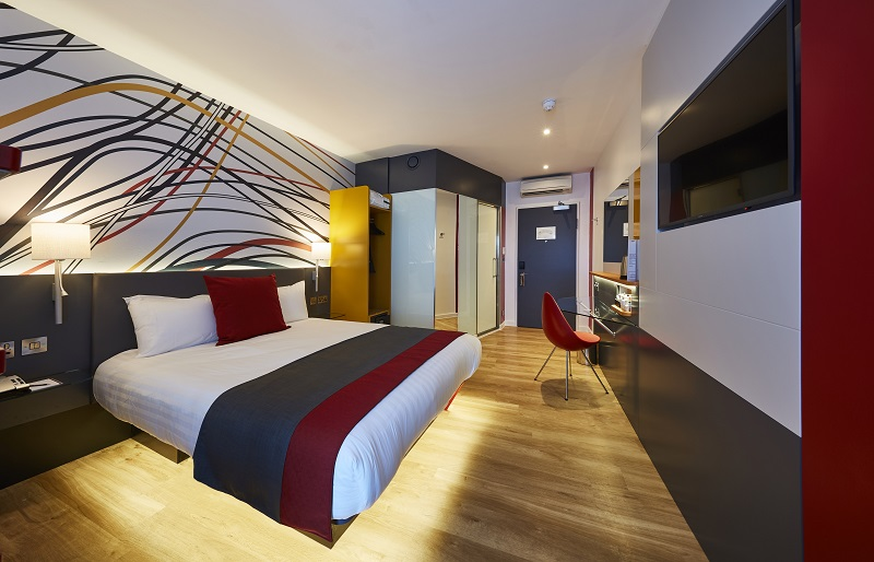A room at Sleeperz Hotel Dundee